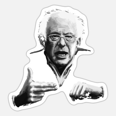 Bernie Bernie Sanders Run The Jewels - Sticker