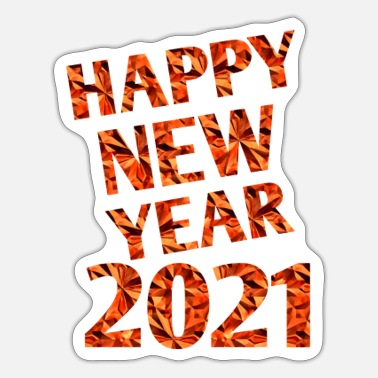 New Age New year collections - Sticker