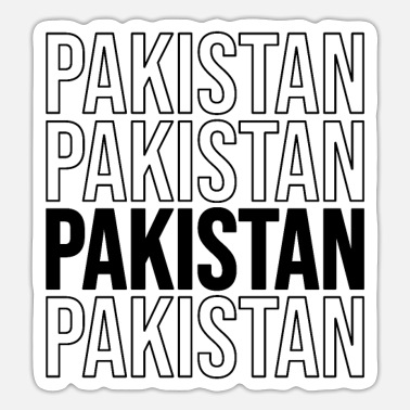 Hyderabad Funny Pakistani Saying about Pakistan as gift idea - Sticker
