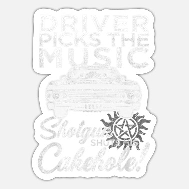 Supernatural Supernatural Driver Picks Music - Sticker