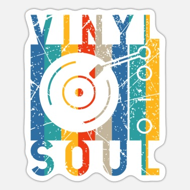 Turn Table Turn Tables Turntables Vinyl 80s Music - Sticker