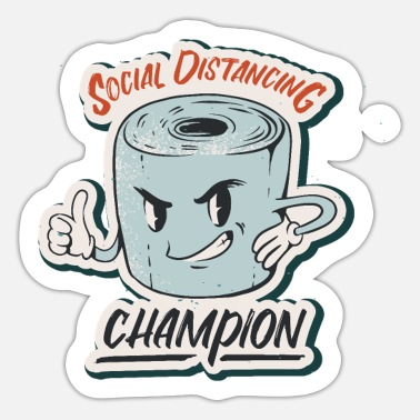 Social Social Distancing - Sticker