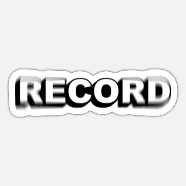 Record Record! - Sticker