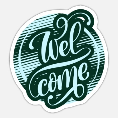 Among Us Welcome - Sticker