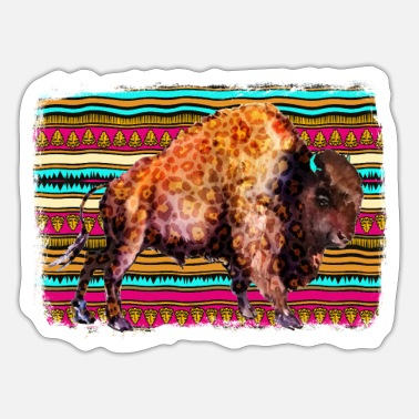 Aztec Football Aztec Buffalo - Sticker