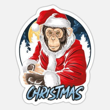 Funny Animals funny animals animal lover christmas present - Sticker