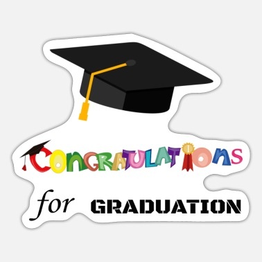 Congratulations Congratulations for graduation - Sticker
