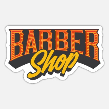 Barber Barber shop - Sticker