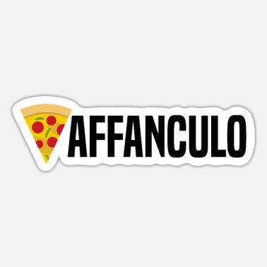 Italy Vaffanculo Funny Italian Saying Italy as Gift Idea - Sticker