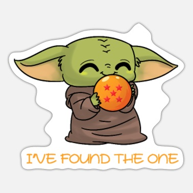 Baby Yoda I ve found the one - Sticker