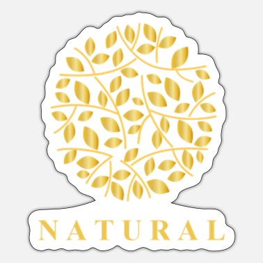 Natural Be Natural - Sticker