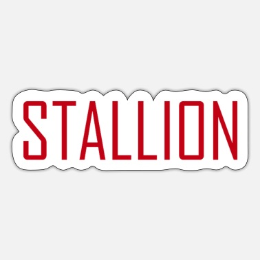 Stallion Stallion - Sticker