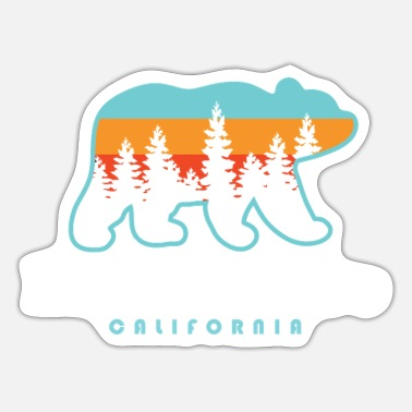 Lake Tahoe Lake Tahoe California Bear Lake Tahoe Gift Tee - Sticker