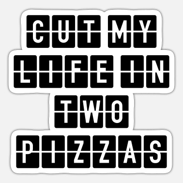 Two Two Pizzas - Sticker