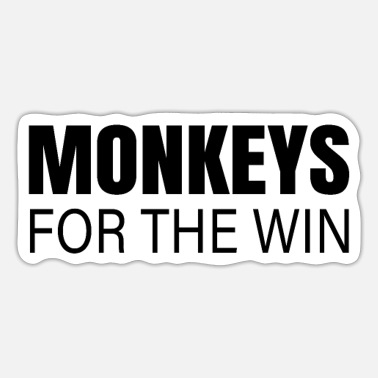 Monkeys monkeys - Sticker
