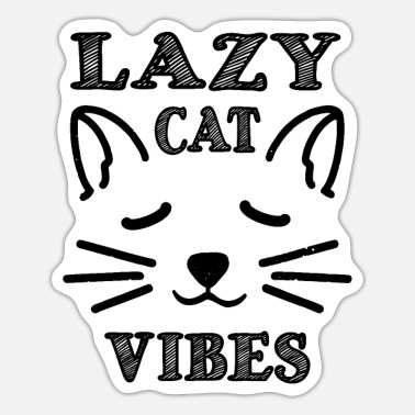 Lazy Cat Lazy Cat - Sticker