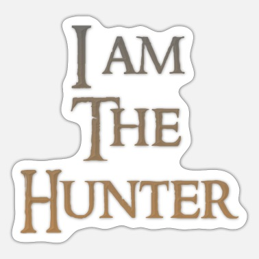 Primal I am the Hunter Lore - Sticker