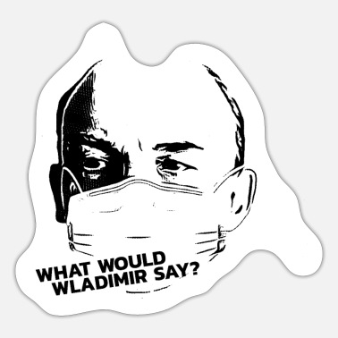 Vladimir Lenin - What Would He Say? - Sticker