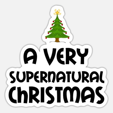 Supernatural A VERY SUPERNATURAL CHRISTMAS - Sticker