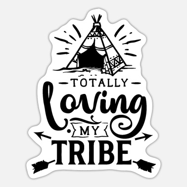 Germanic Tribes Totally loving my tribe - Sticker