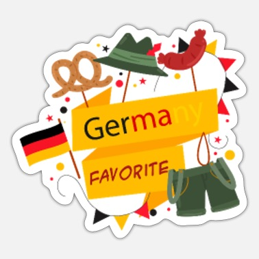 Danube Germany Favorite - Sticker