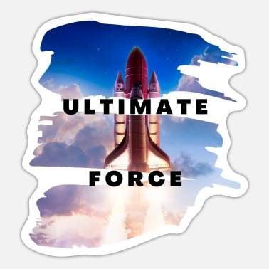 Force Ultimate Force - Sticker