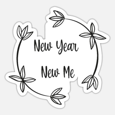 New Years New year new me, new year - Sticker