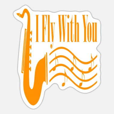 Form I Fly With You - Sticker