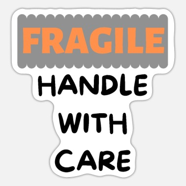 Tlc Fragile Handle With Care - Sticker