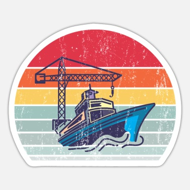 Ship Ship - Sticker