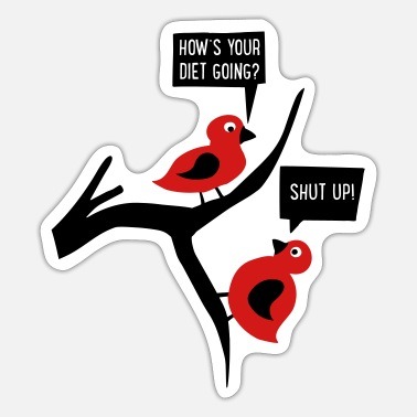 Humor Diet Humor - Sticker