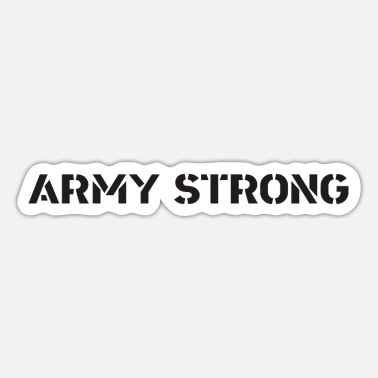 Army Reserve US Army - Army Strong - Sticker