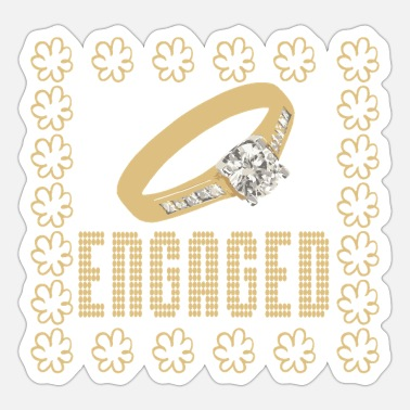 Engagement Engaged - Sticker