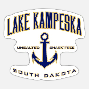 Danube Lake Kampeska Sd - Sticker