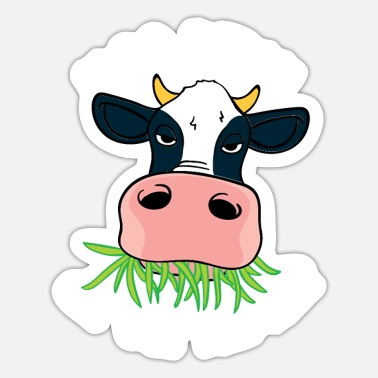 Bovine Moo Get Out Of The Hay - Sticker