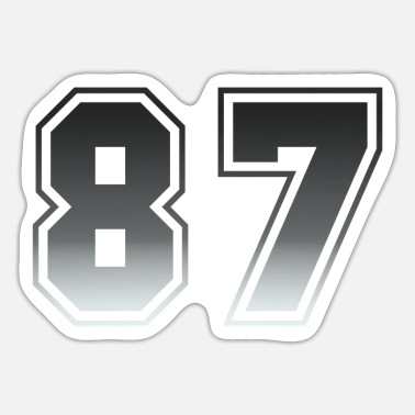 Number Numbers - Sticker