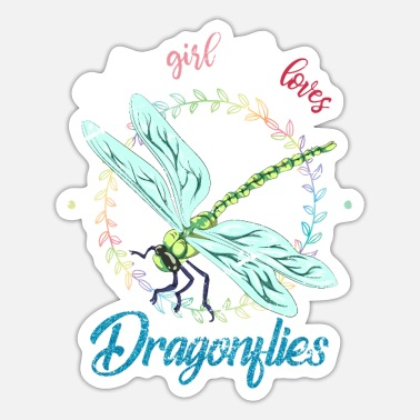 Fly Dragonfly - Sticker