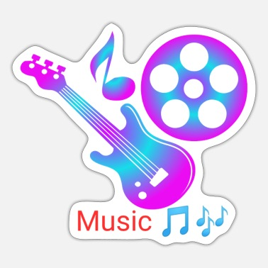 Musical Instruments MUSIC INSTRUMENTS - Sticker