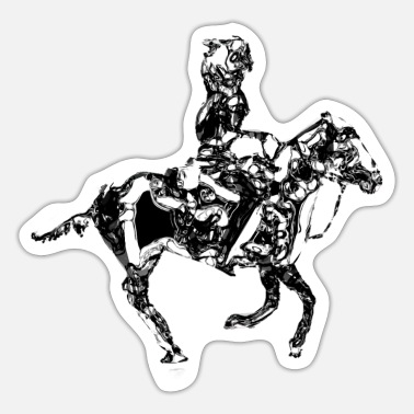 Equitation equitation - Sticker