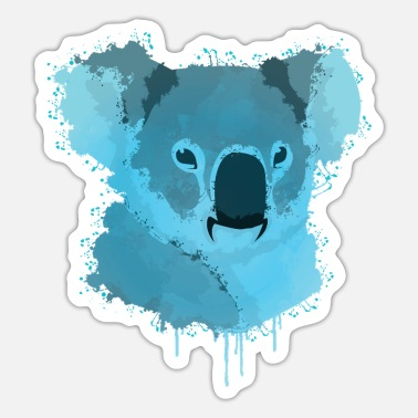 Koala Koala Koala Art - Sticker