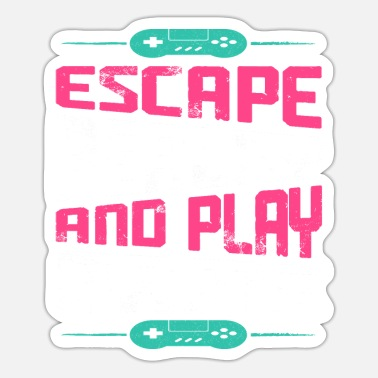 Clan Escape Reality And Play Game - Sticker