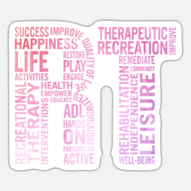 Recreational Recreational Therapist Gift For Recreational Thera - Sticker