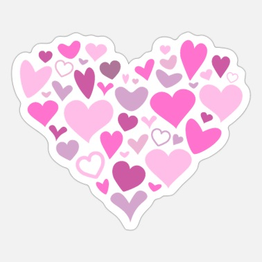 Heart Heart of Hearts - Sticker