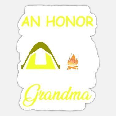 Style Camping Grandma Is Priceless - Sticker