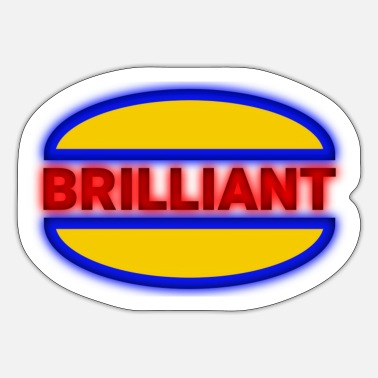Brilliant brilliant glossy - Sticker