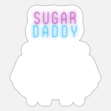 Sugar Daddy Sugar Daddy White - Sticker