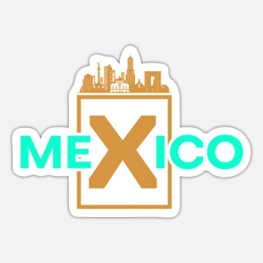 Central Mexico Mexico Country Travel - Sticker