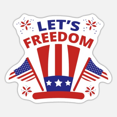 Lets Lets Freedom - Sticker