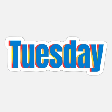 Thursday Tuesday - Sticker