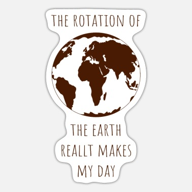 Target Rotation earth day gift ecology climate change - Sticker